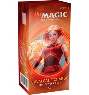 Magic Challenger Deck Cavalcade Charge Challenger Deck 2020 - Rød