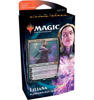 Magic Core 2021 PW Deck Liliana Planeswalker Deck - Svart