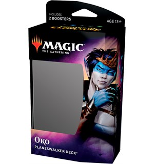 Magic Throne of Eldraine PW Deck Oko Planeswalker Deck
