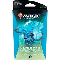 Magic Zendikar Rising Theme Blue Theme Booster - 35 blå kort