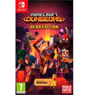 Minecraft Dungeons Hero Edition Switch