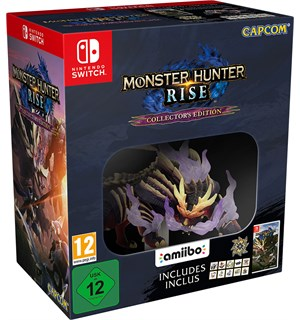 Monster Hunter Rise Coll Ed Switch Collectors Edition