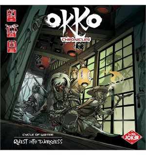 Okko Chronicles Brettspill Cycle of Water Quest into Darkness