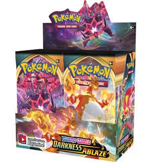 Pokemon Darkness Ablaze Display 36 boosterpakker á 10 kort pr pakke