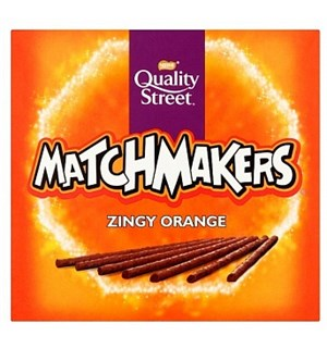 Quality Street Matchmaker Orange 120g