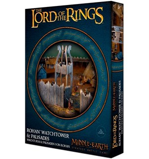 Rohan Watchtower & Palisades Middle-Earth Strategy Battle Game