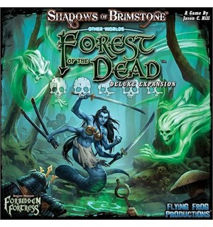 Shadows of Brimstone Forest of the Dead Utvidelse til Shadows of Brimstone