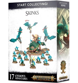 Skinks Start Collecting Warhammer Age of Sigmar