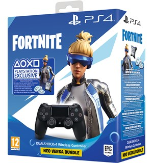 Sony Dualshock 4 Controller V2 Sort PS4 Fortnite Neo Versa Bundle