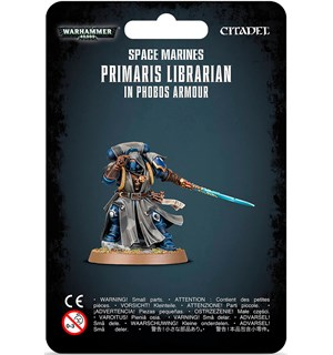 Space Marines Primaris Librarian (2019) In Phobos Armour - Warhammer 40K