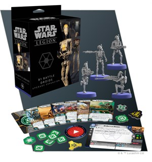 Star Wars Legion B1 Battle Droid Upgrade Utvidelse til Star Wars Legion