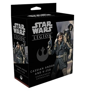 Star Wars Legion Cassian Andor/K-2S0 Exp Utvidelse til Star Wars Legion