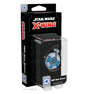 Star Wars X-Wing HMP Droid Gunship Exp Utvidelse til Star Wars X-Wing 2nd Ed