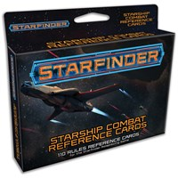 Starfinder RPG Starship Combat Cards Reference Cards - 110 kort