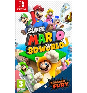Super Mario 3D World Switch Inkl Bowser's Fury