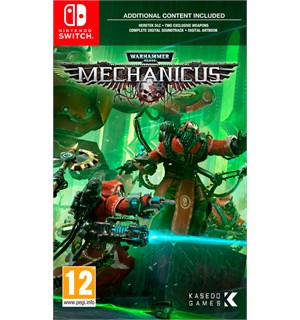 Warhammer 40K Mechanicus Switch