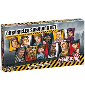 Zombicide 2nd Edition Chronicles Exp Chronicles Survivor Set