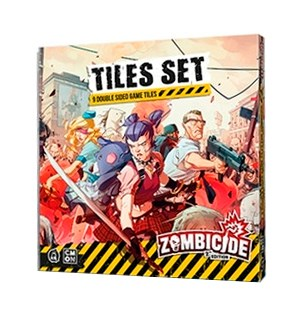 Zombicide 2nd Edition Tiles Set Utvidelse til Zombicide 2nd Edition