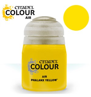 Airbrush Paint Phalanx Yellow 24ml Maling til Airbrush
