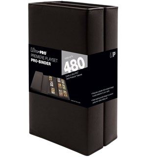 Album Premiere Playset Pro Binder For oppbevaring av playsets - 480 kort