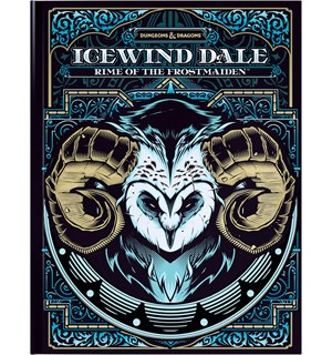 D&D Adventure Icewind Dale Lim Ed. Rime of the Frostmaiden Level 1-12