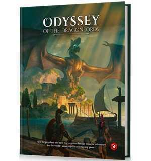D&D Adventure Odyssey of the Dragonlords Dungeons & Dragons Scenario Level 1-15