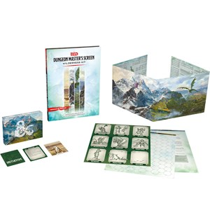 D&D DM Screen Wilderness Kit
