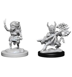 D&D Figur Nolzur Halfling Fighter Female Nolzur's Marvelous Miniatures - Umalt