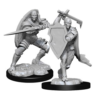 D&D Figur Nolzur Warforged Fighter Nolzur's Marvelous Miniatures