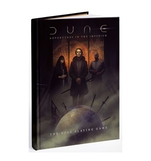 Dune RPG Core Rulebook Adventures in the Imperium