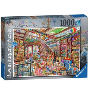 Fantasy Toy Shop 1000 biter Puslespill Ravensburger Puzzle