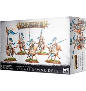 Lumineth Realm Lords Vanari Dawnriders Warhammer Age of Sigmar