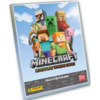 Minecraft Trading Cards Starter Pack Adventure Trading Cards Album m/ 24 kort