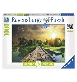 Mystical Light 1000 biter Puslespill Ravensburger Puzzle