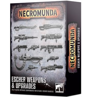 Necromunda Escher Weapons & Upgrades