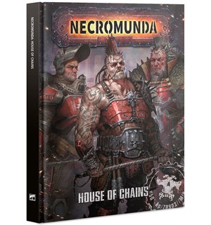 Necromunda House of Chains (Bok) Necromunda Underhive