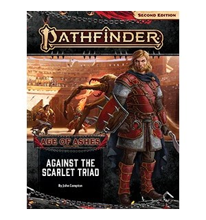 Pathfinder 2nd Ed Age of Ashes Vol 5 Against the Scarlet Triad Adventure Path