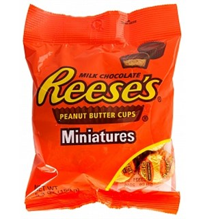 Reeses Miniature Cups Peanut Butter 150g