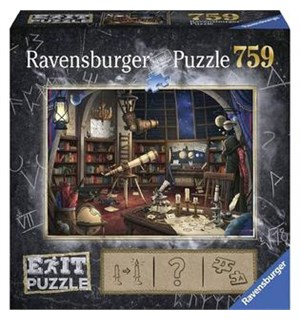 Space Observatory 759 biter Puslespill Ravensburger Escape Room Puzzle