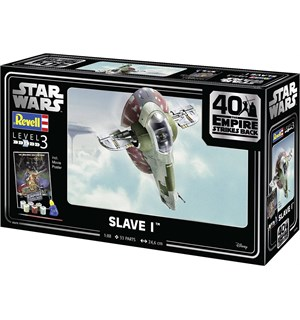 Star Wars Slave I Starter Set Revell 1:88 Byggesett