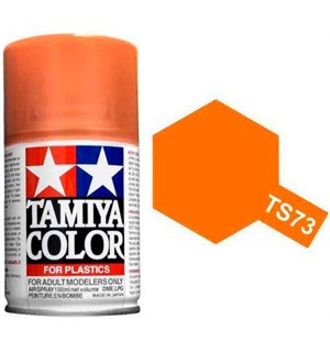 Tamiya Airspray TS-73 Clear Orange Tamiya 85073 - 100ml