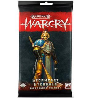 Warcry Cards Stormcast Sancrosanct Warhammer Age of Sigmar