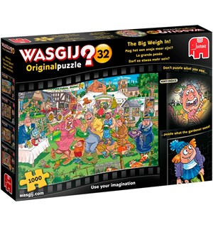 Wasgij Original 32 Puslespill The Big Weigh In