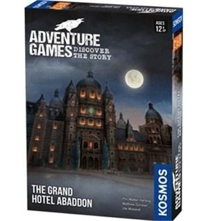 Adventure Games Grand Hotel Abaddon Brettspill