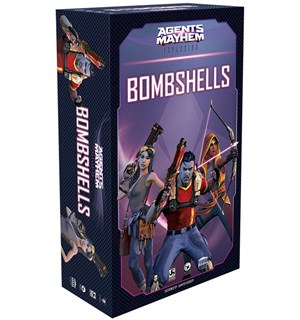 Agents of Mayhem Bombshells Expansion Utvidelse til Agents of Mayhem