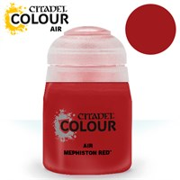 Airbrush Paint Mephiston Red 24ml Maling til Airbrush