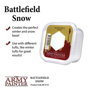 Army Painter Basing Battlefield Snow 150ml