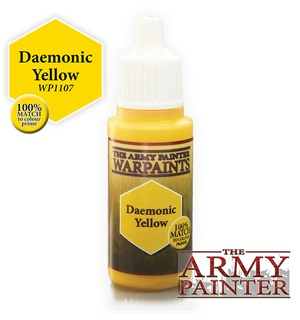 Army Painter Warpaint Daemonic Yellow Også kjent som D&D Angelic Yellow
