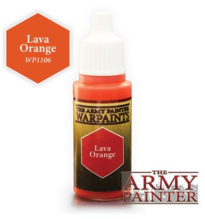 Army Painter Warpaint Lava Orange Også kjent som D&D Rust Monster