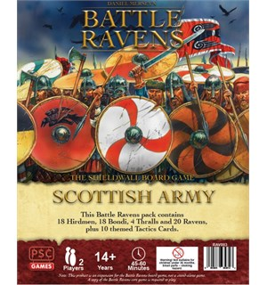 Battle Ravens Scottish Army Expansion Utvidelse til Battle Ravens